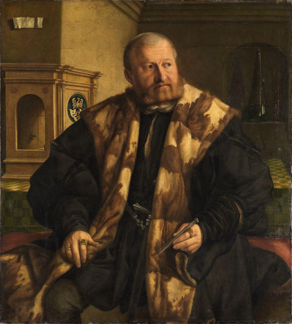 Bildnis des Nürnberger Münzmeisters Jörg Herz