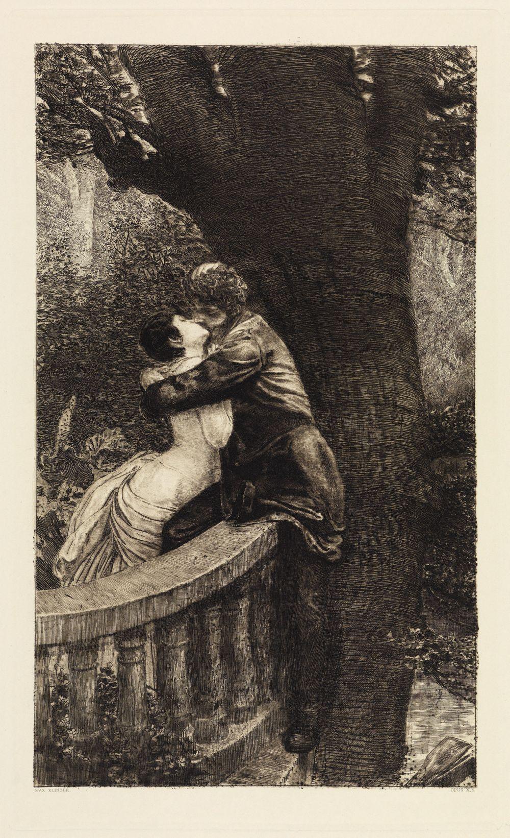 Kuss (Im Park) (Eine Liebe, Opus X, Blatt 4)
