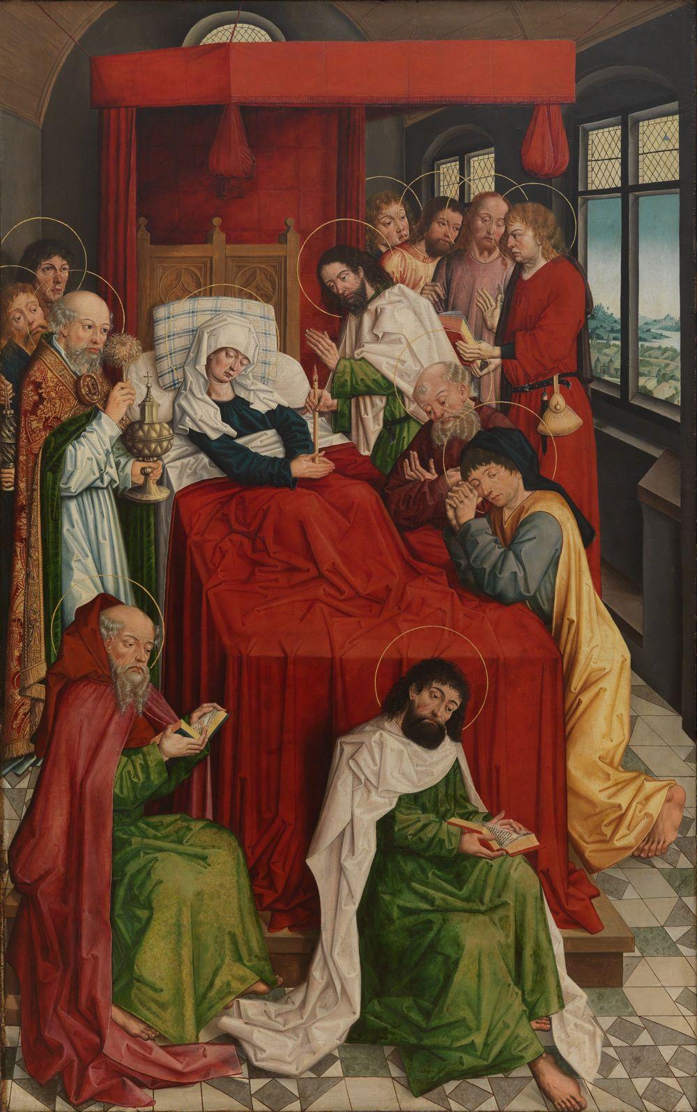 Tod Mariae und Heimsuchung Mariae