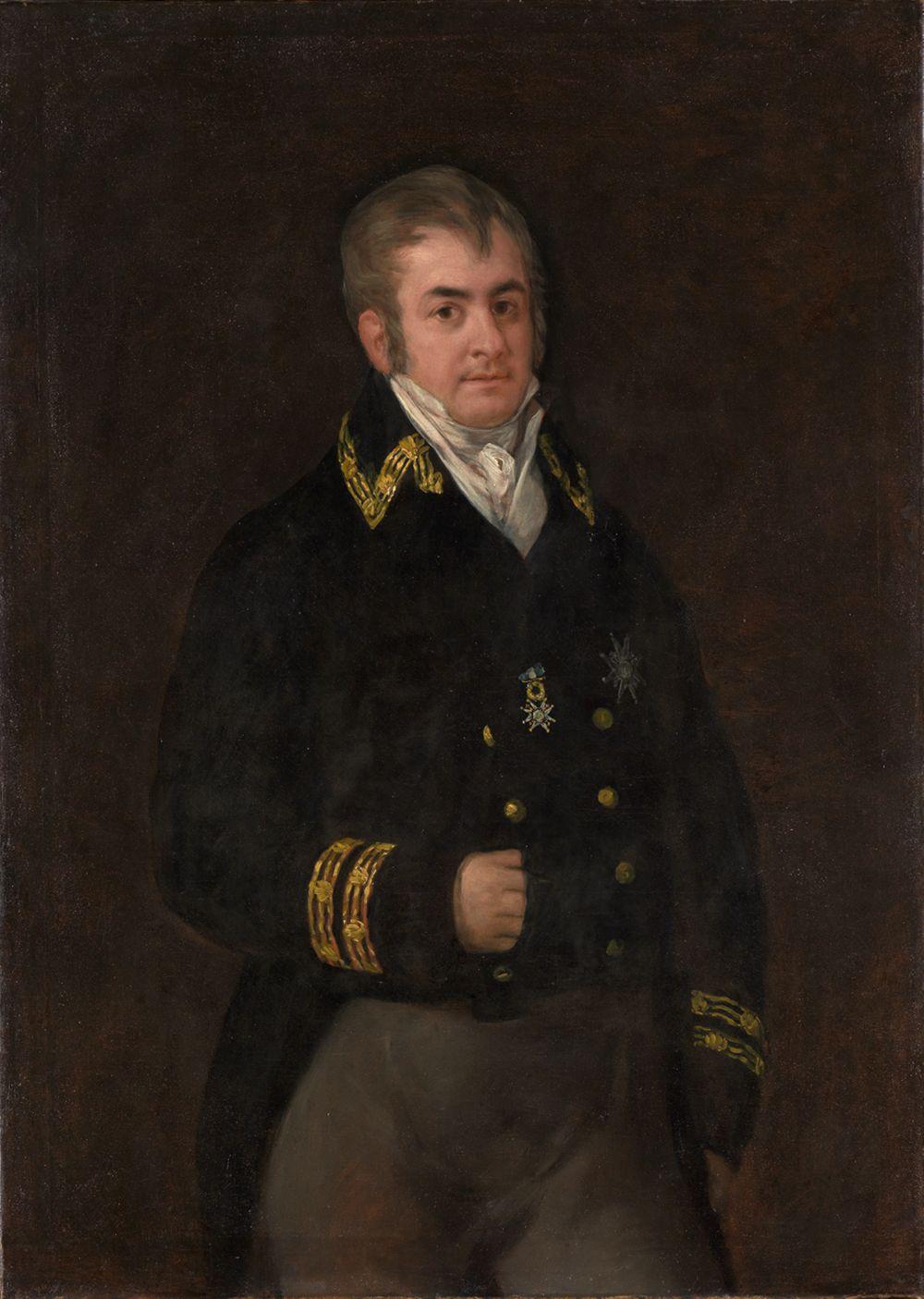 Bildnis Don Juan Bautista de Goicoechea y Urrutia