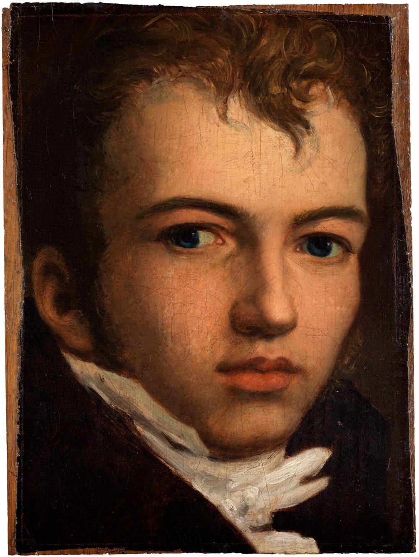 Bildnis des Malers Johann Carl Eggers