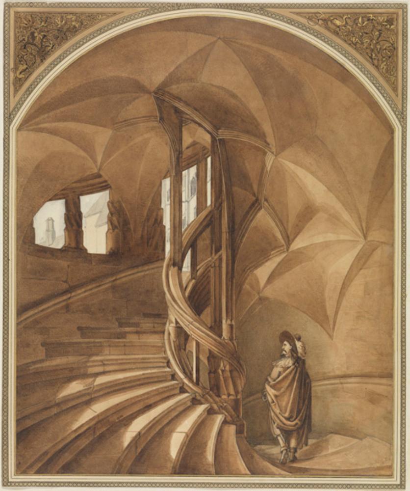 Treppe in der Albrechtsburg in Meißen