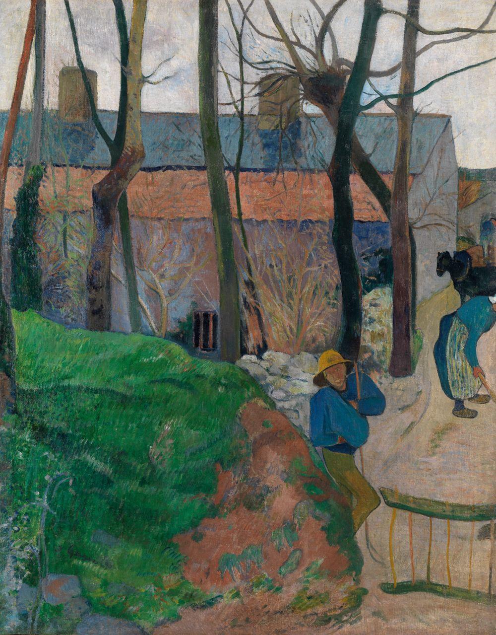 Häuser in Le Pouldu