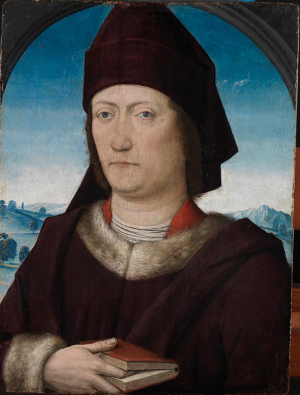 Bildnis eines Gelehrten