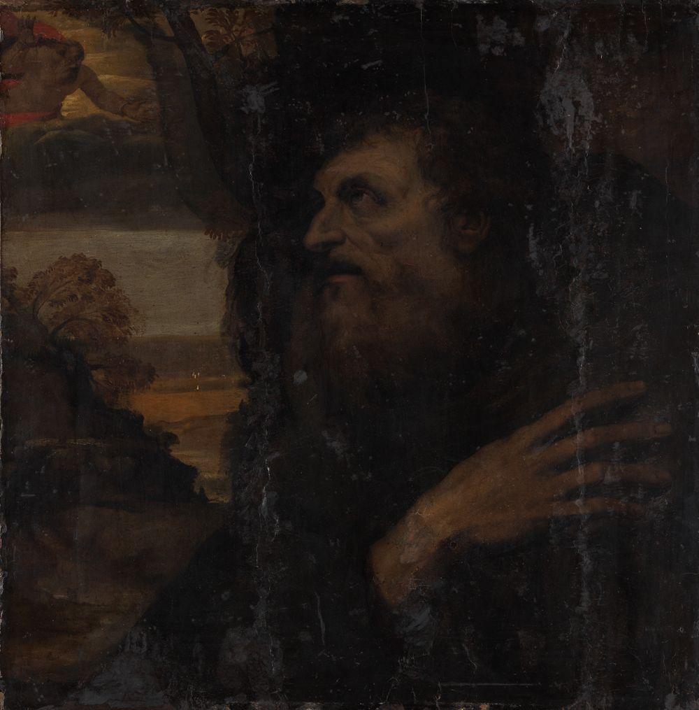 Vision des Heiligen Antonius Abbas