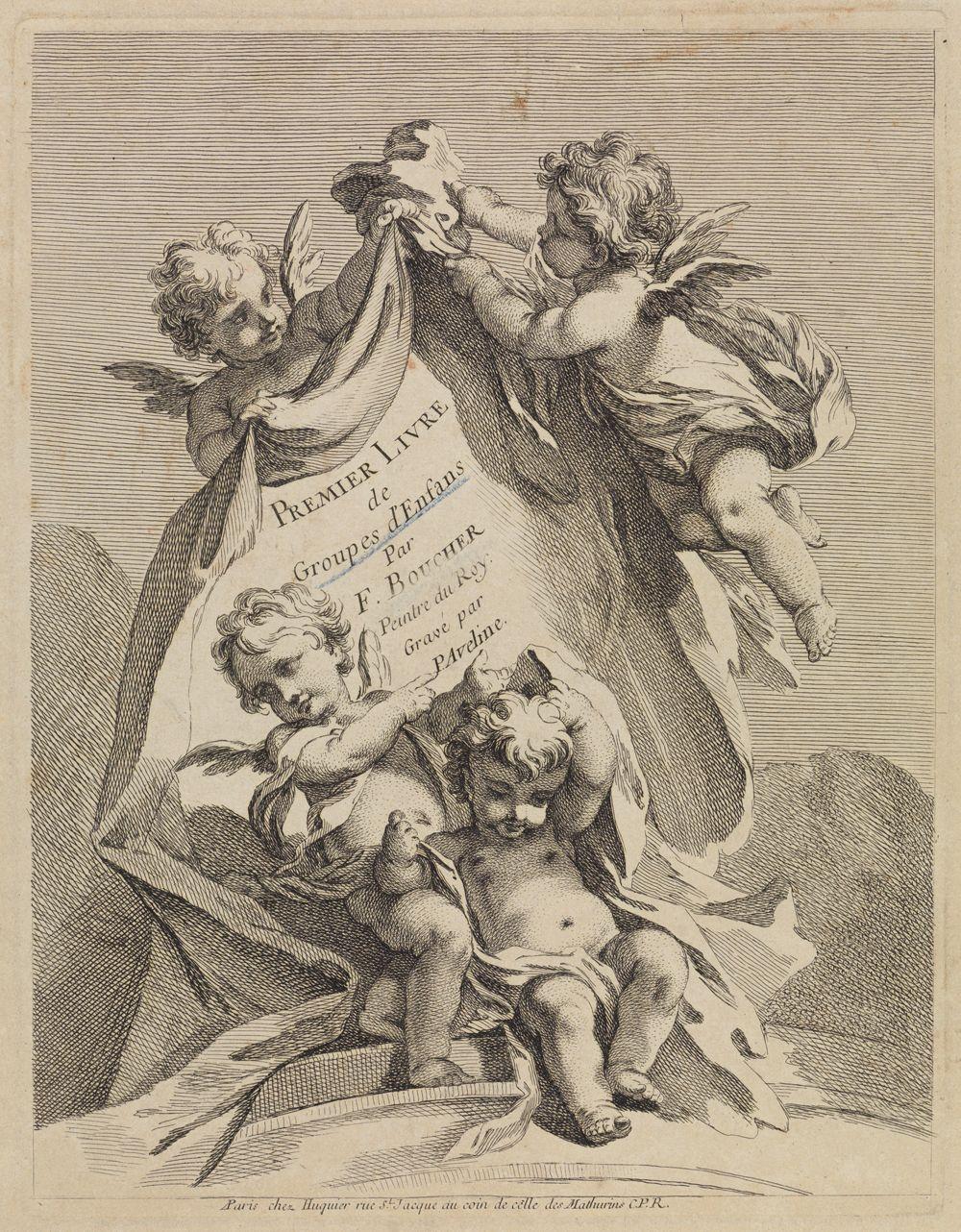Titelblatt (Premier Livre)
