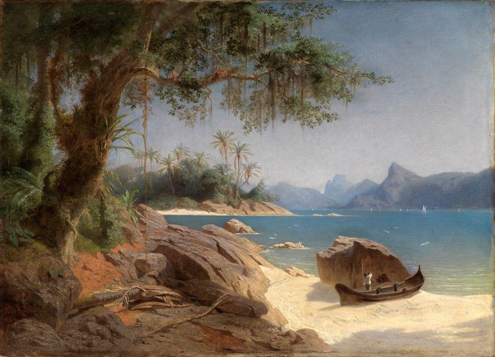 Küstenlandschaft bei Rio de Janeiro