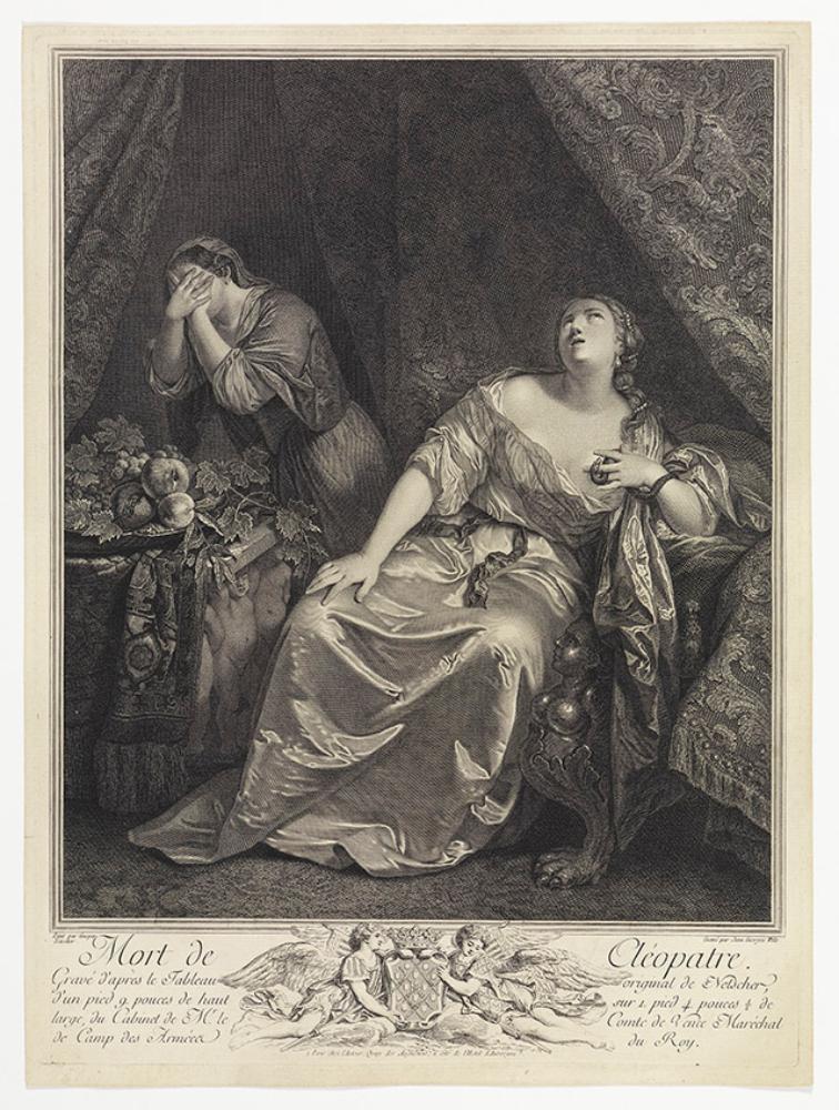 Tod der Kleopatra (Mort de Cléopatre)