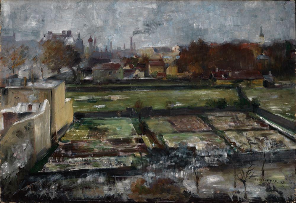 Blick aus Münchner Atelier