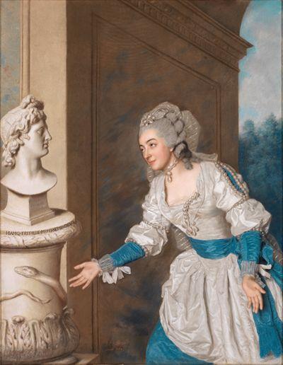 Madame de Vermenoux huldigt Apollo
