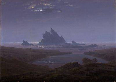 Felsenriff am Meeresstrand