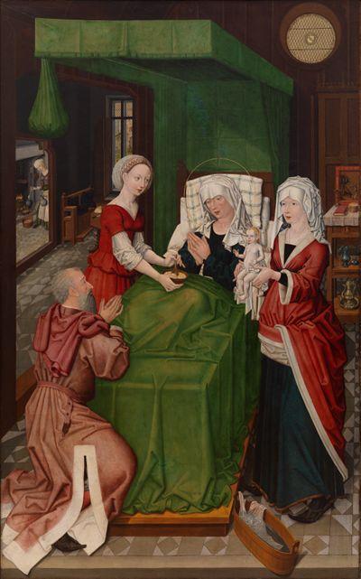 Geburt Mariens und Verkündigung an Maria