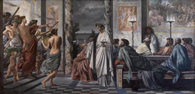 Das Gastmahl des Plato