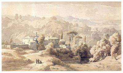 Das Kloster S. Francesco di Civitella im Aequergebirge