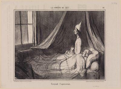 Croyant l'apercevoir (La Comète de 1857, Blatt 10)