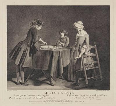 Das Gänsespiel (Le jeu de l'oye)