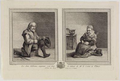Der Bettler vor der Frau
