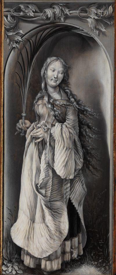 Heilige Märtyrerin (Hl. Bibiana oder Hl. Lucia?)