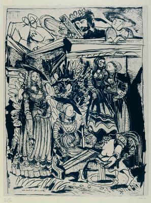 David und Bathseba (II)