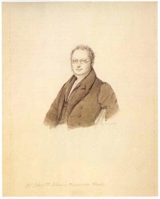 Brustbildnis Dr. Johann Albert Wich