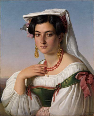 Bildnis der Vittoria Caldoni