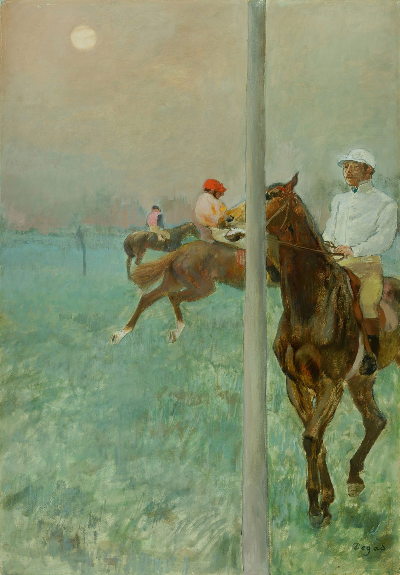 Edgar Degas: Jockeys vor dem Rennen, 1878/79 © The Barber Institute of Fine Arts, University of Birmingham