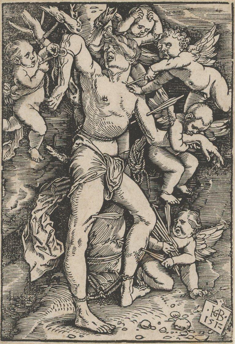 Abbildung des Werks Kleiner Heiliger Sebastian des Renaissance-Künstlers Hans Baldung Grien aus dem Jahr 1512