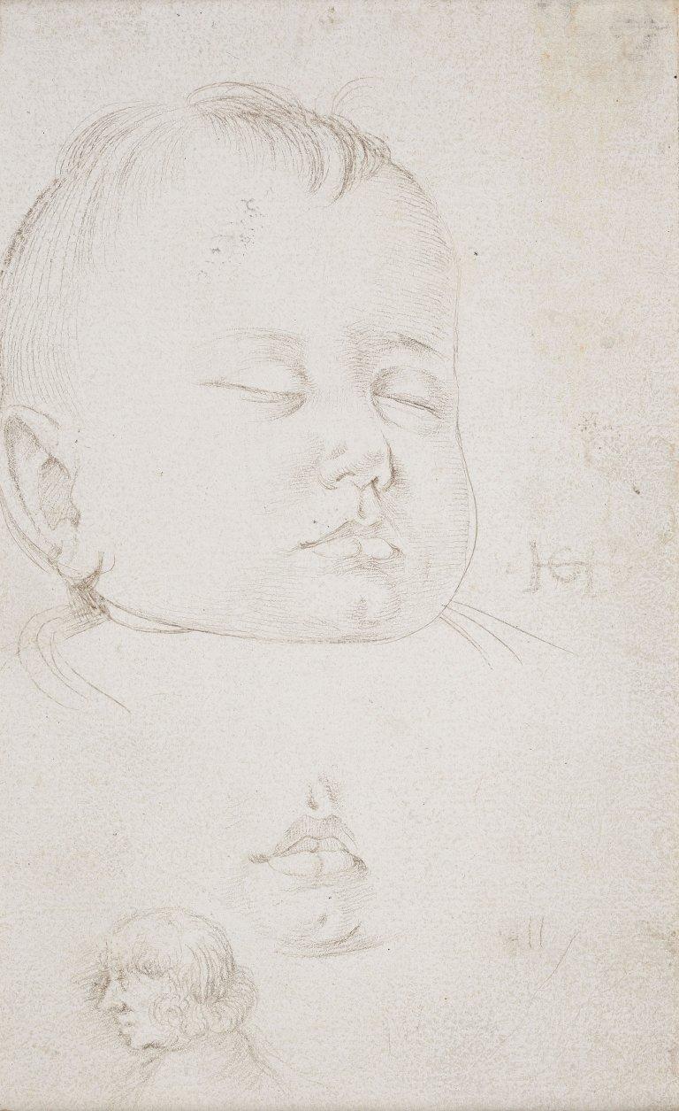 Abbildung einer Zeichnung des Renaissance-Künstlers Hans Baldung Grien aus dem Jahr 1520/25 (?)
