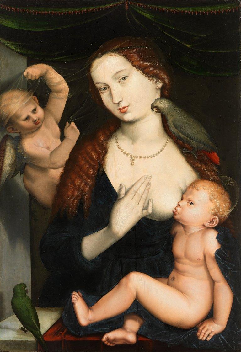 Abbildung des Werks Abbildung des Werks des Renaissance-Künstlers Hans Baldung Grien aus dem Jahr 1533