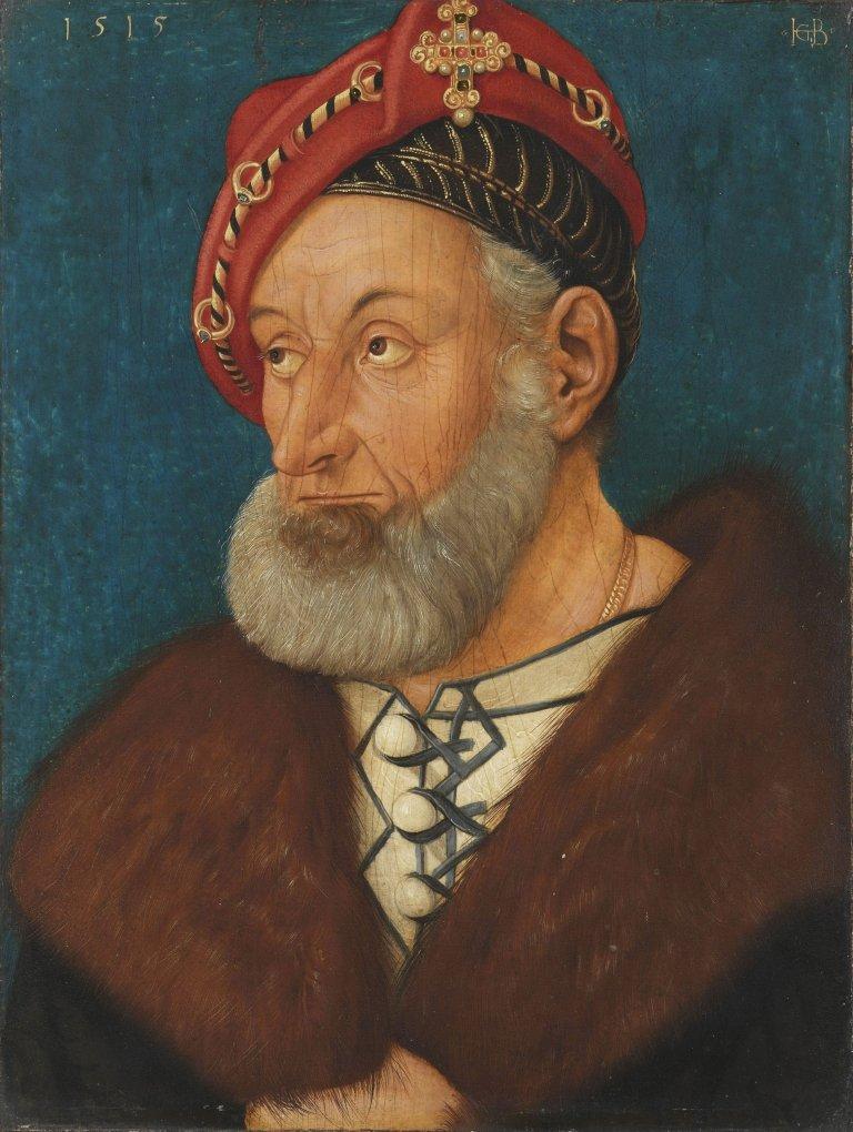 Abbildung des Werks Markgraf Christoph I. von Baden des Renaissance-Künstlers Hans Baldung Grien aus dem Jahr 1515