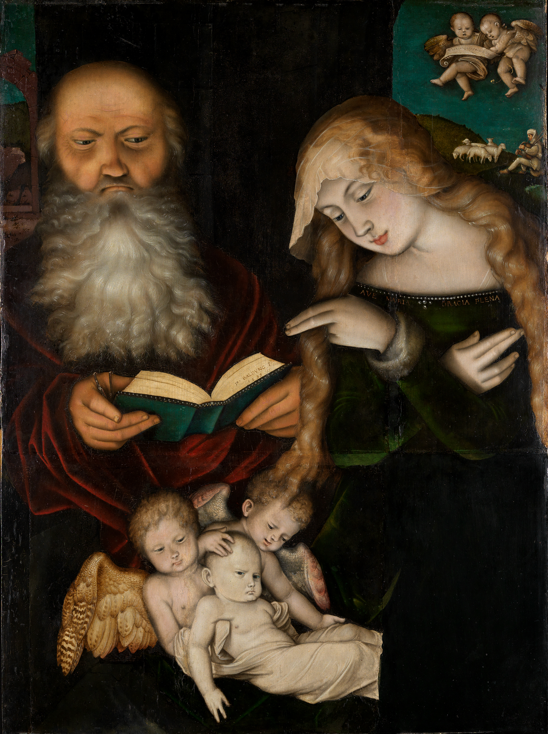 Image of Hans Baldung Grien: Nativity, 1539