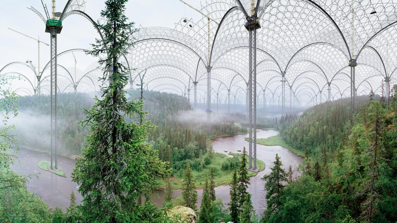 """Abbildung des Werks """"Kitka River"""" von Ilkka Halso"""